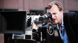 Christopher Nolan with IMAX camera