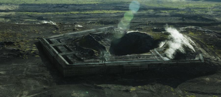 Oblivion - Destroyed Pentagon