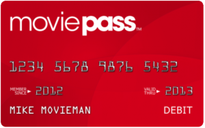 Movie Pass Debit Card