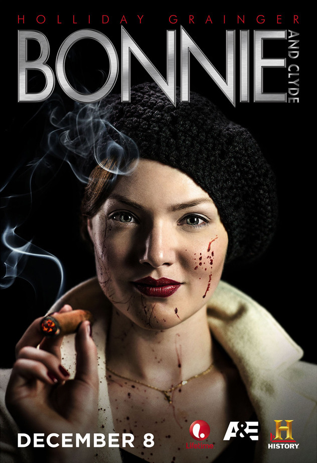 Emile Hirsch and Holliday Grainger in Bonnie & Clyde Miniseries