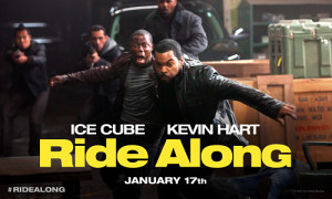 Ride Along starring Kevin Hart and Ice Cube, directed by Tim Story