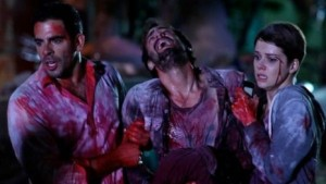 Aftershock, directed by Nicolás López, written by Guillermo Amoedo, Nicolás López and Eli Roth.