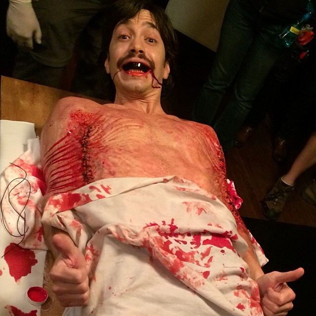 Justin Long is a human walrus in Kevin Smith's Tusk