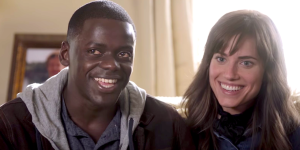 Daniel Kaluuya and Allison Williams star in Get Out directed by Jordan Peele